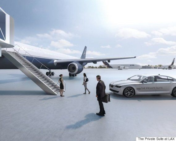 Los Angeles Airport Terminal Caters To The Super Rich, Spares No