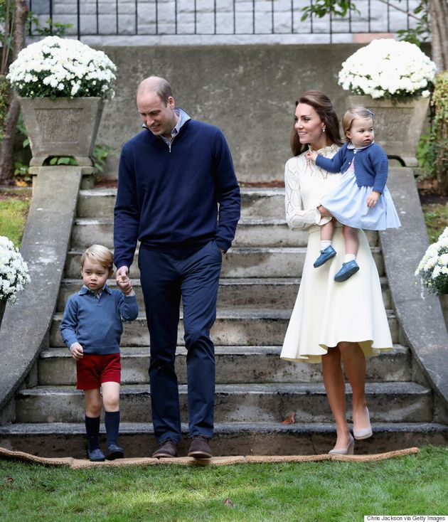Prince Harry, Kate Middleton And Prince William Hosted A Tea Party For