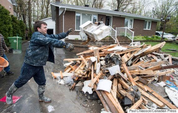 Quebec Flood: Montrealers Clean Up Homes After 'Catastrophic' Flood