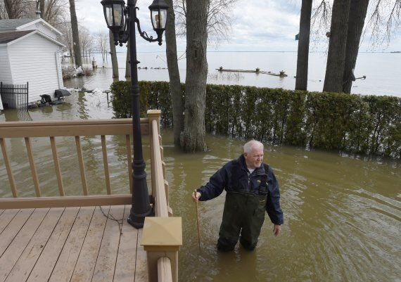 Waters Begin To Retreat In Flooded Quebec And