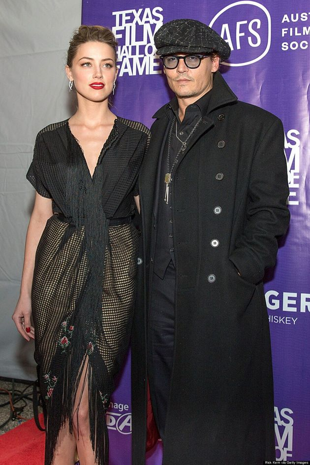 Amber Heard's Engagement Ring From Johnny Depp Is Huge