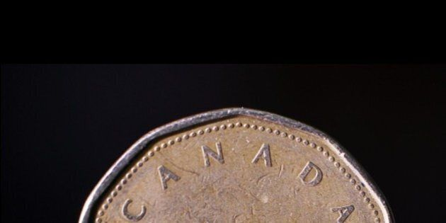Loonie Down Sharply After Ugly Jobs