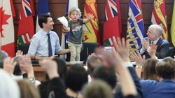 PM Trudeau Shows His Youngest The Family