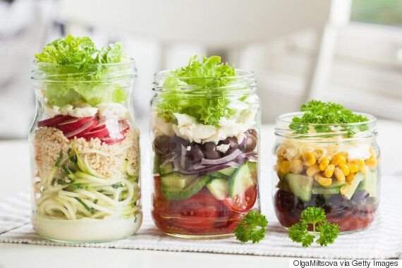 Healthy Mason-Jar Meals Make It Oh So Easy To Resist Ordering