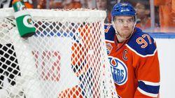 Oilers Star Snaps Adorably Awkward Fan