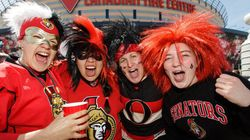 Meanwhile In Canada, Hockey Fans Celebrate In The Most Polite Way