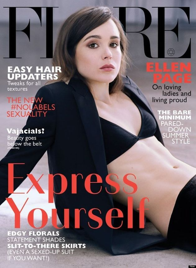 Ellen Page's Flare Magazine Cover Shows Her Sexy