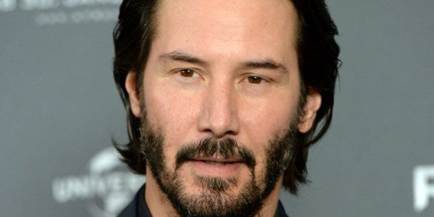 MUNICH, GERMANY - JANUARY 17: Actor Keanu Reeves attends the '47 Ronin' Photocall at Hotel Bayerischer...