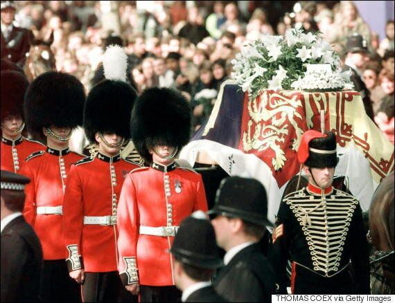 Princess Diana's Funeral Wasn't Supposed To Be A Grand