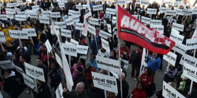 AUPE Review Details Of 4-year Tentative