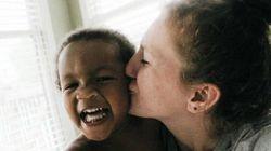 Photos Reveal Unique Bond Between Adoptive Moms And Their