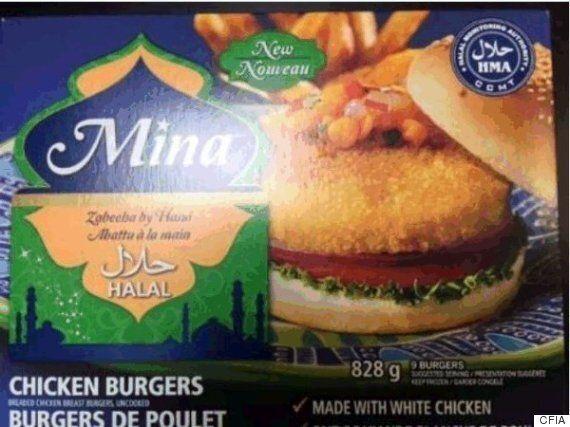 Canadian Food Inspection Agency Recalls Breaded Chicken
