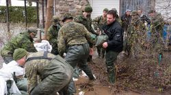 More Troops Sent In To Help Flood-Battered
