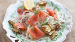 Mother's Day Recipe For Shaved Fennel And Smoked Salmon