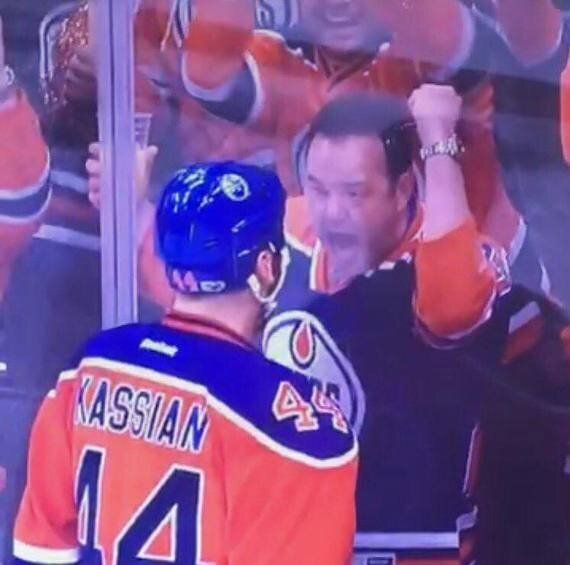 Meet The Oilers Fan Who Celebrated With Zack