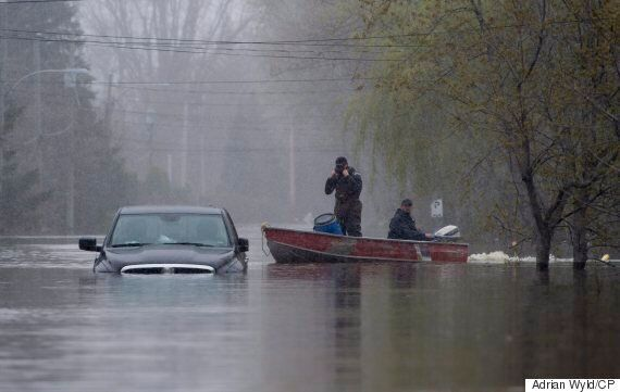 Quebec Floods: Man, Toddler Swept Away By Sainte-Anne