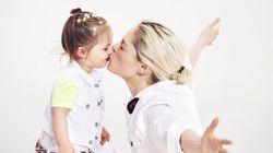 Coco Rocha's Surviving Motherhood By Putting 'No Pressure