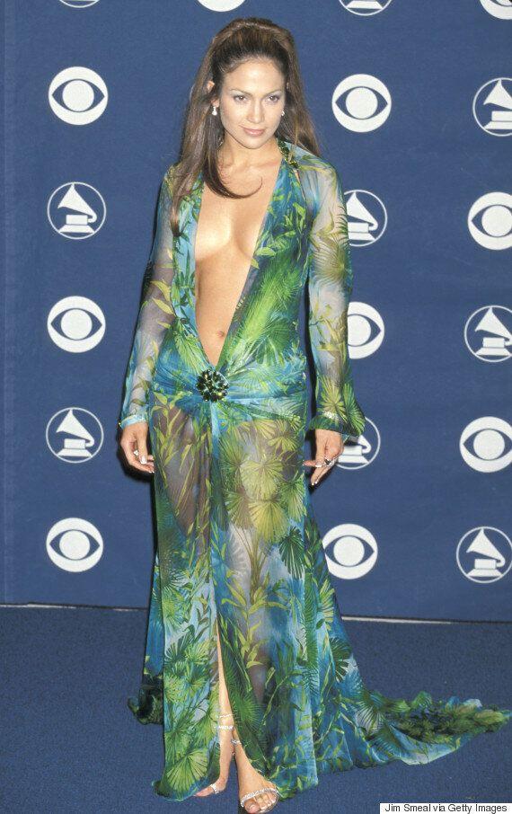 Jillian Rose Reed Rocks Jennifer Lopez-Inspired Dress At 2017 MTV Movie & TV