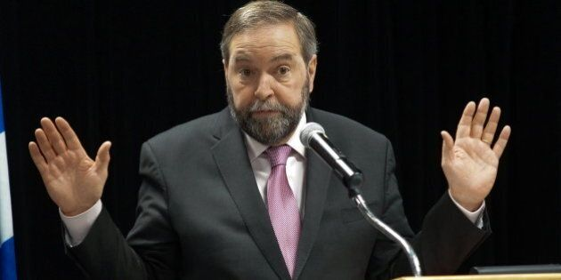 Tom Mulcair To Face MPs' Questions On Satellite Offices, Mass