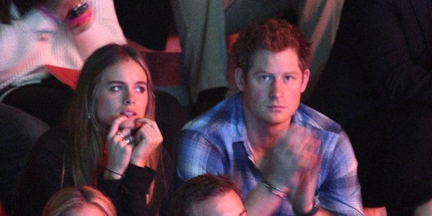 LONDON, ENGLAND - MARCH 07:  Cressida Bonas and Prince Harry attend We Day UK, a charity event to bring young people together at Wembley Arena on March 7, 2014 in London, England.  (Photo by Karwai Tang/WireImage)