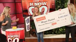 Ellen DeGeneres Shocks Ontario Nurse With $20K