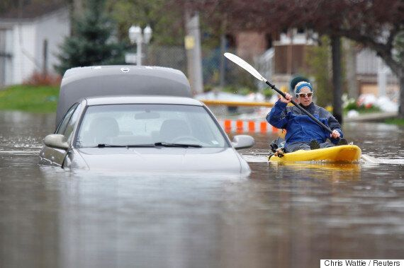 Quebec Floods: Province Enlists Army To Help Cope With