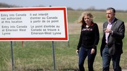 Tories Challenge Trudeau To See Illegal Border Crossings