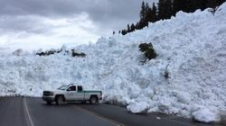 'Controlled' Alberta Avalanche Gets Completely Out Of