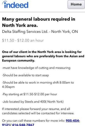 Canadian Company Delta Staffing Didn't Even Bother To Hide Its Gender Wage