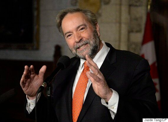 Thomas Mulcair Aims To Vote In French Election, And Says It's An Easy