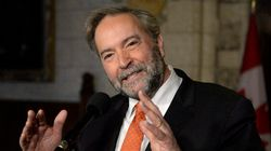 Mulcair To Vote In French Election, And Says It's An Easy