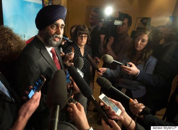 Harjit Sajjan Says He's Owned Up To 'Mistake,' But Has Job To
