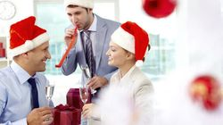 Sticky Situation: Surviving the Holiday Office