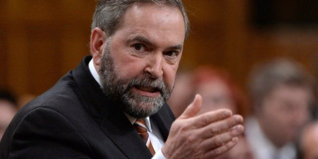 Private Data Given To Feds 'An Abomination,' Tom Mulcair