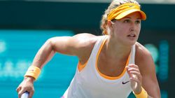 Eugenie Bouchard Advances To Quarters At Portugal