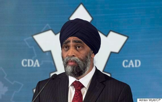 Harjit Sajjan Highlights 'Hole' In Defence