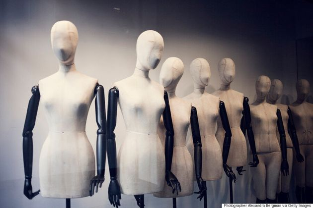 Female Clothing Mannequins Have Unrealistic Body Types, Study