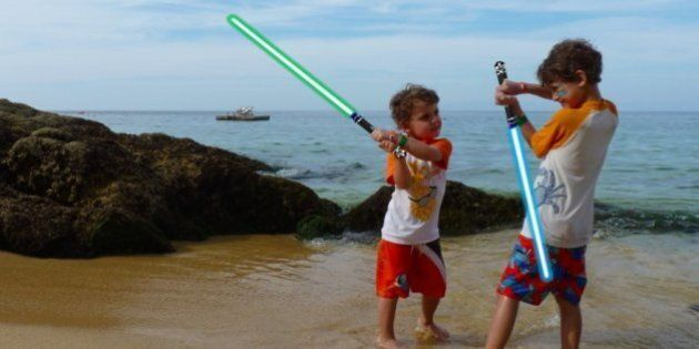 May The Fourth Be With You! How To Add Lightsabers To Your