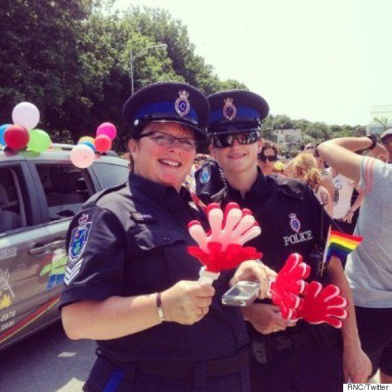 St. John's Pride Invites Uniformed Police Officers To March In