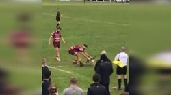 Rugby Players Are No Match For Stubborn Canada