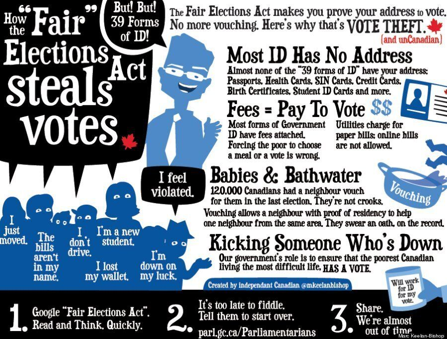 How The Fair Elections Act Controversy Motivated One Illustrator To Get