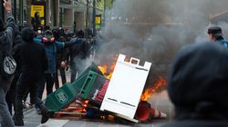 May Day Rioters Hurl Full Cans Of Pepsi At Portland