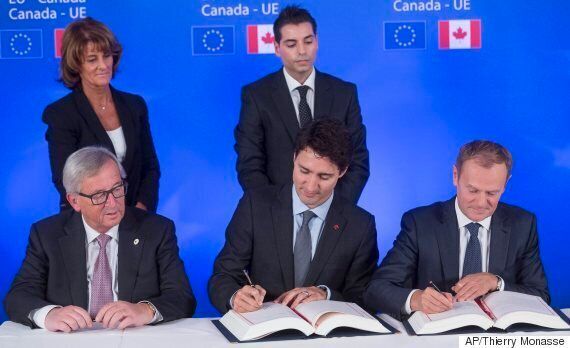 EU Trade Deal Will Make Average Canadian $220 Richer: