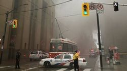 Toronto Intersection Shut Down After