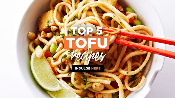 Top 5 Tofu-riffic Recipes For Meatless