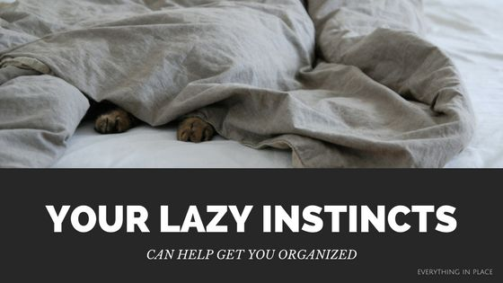 Your Lazy Instincts Can Help Get You