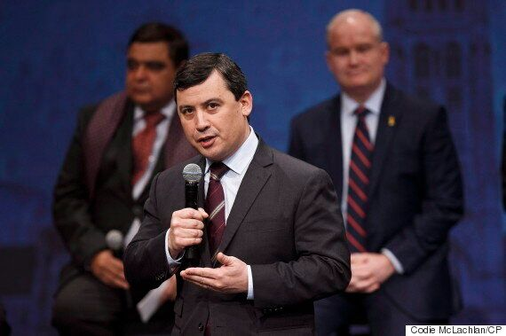 For Michael Chong, Leadership Often Means Going It