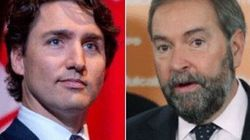 Mulcair's Comments On Trudeau Senate Plan Full Of