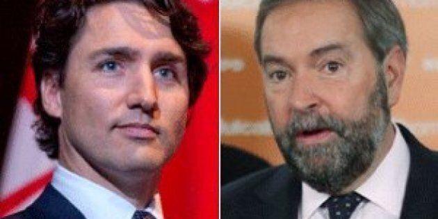 Mulcair's Comments On Trudeau Senate Plan Full Of