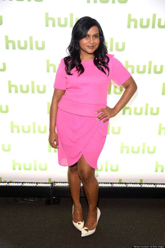 Mindy Kaling's All-Pink Outfit Is A Perfect 'Mean Girls'